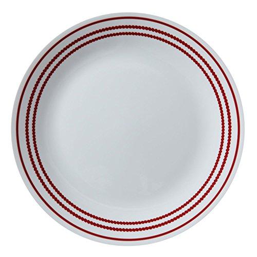 Corelle Livingware 10.25in/26cm Dinner Plate BP-Ruby Red 1114008