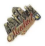 MovilCom® - iman Nevera| Figuras magneticas | imanes Nevera Personalizados de Madrid | diseño Exclusivo Recuerdo de España (Mod.003)