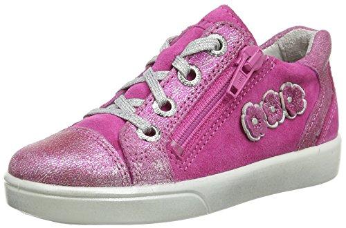 superfit Mädchen Marley Sneaker, Pink Kombi, 33 EU