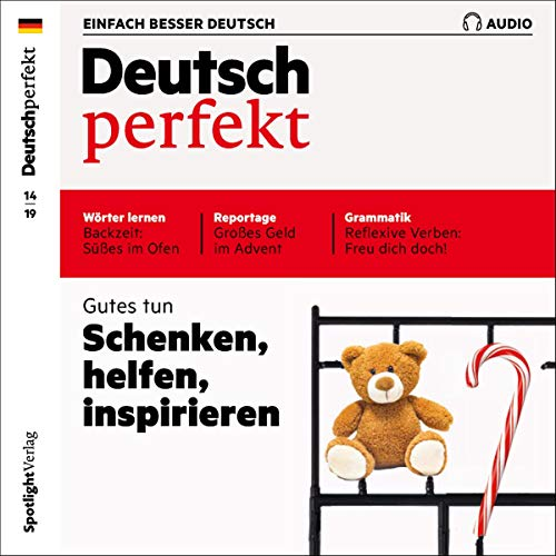 Couverture de Deutsch perfekt Audio. 14/19
