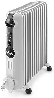 De'Longhi TRRS1225 Radia-S Serie Olie-radiator, energiebesparend radiator met 12 ribben voor ruimtes tot 75 m³, grijs