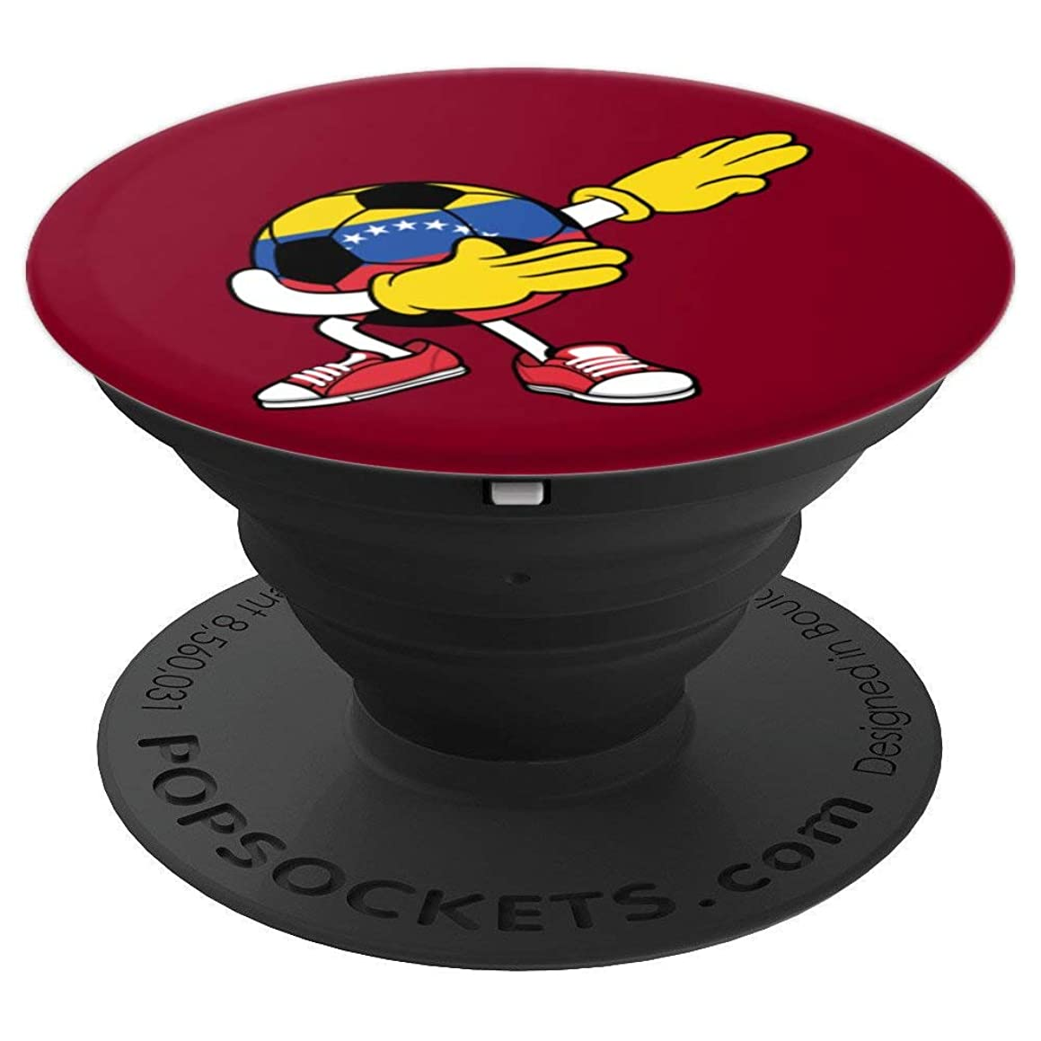 Dabbing Soccer Venezuela Jersey Art - Venezuelan Football - PopSockets Grip and Stand for Phones and Tablets