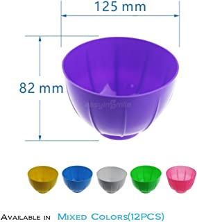 Easyinsmile Disposable Dental Mixing Bowl and Mixing Spatula Mix Color (mix color(bowl))