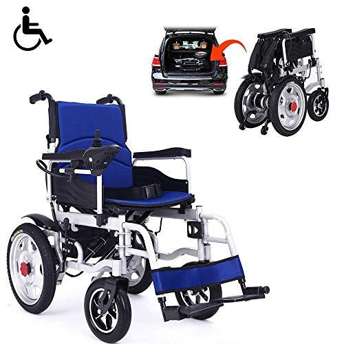 ZHANGYY Elektrische Rollstühle Faltbarer Rollstuhlregler für Erwachsene und Sport kann den Outdoor-Reisestuhl in die Linke und rechte Position bringen