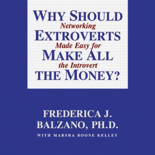 Why Should Extroverts Make All the Money?  cover art
