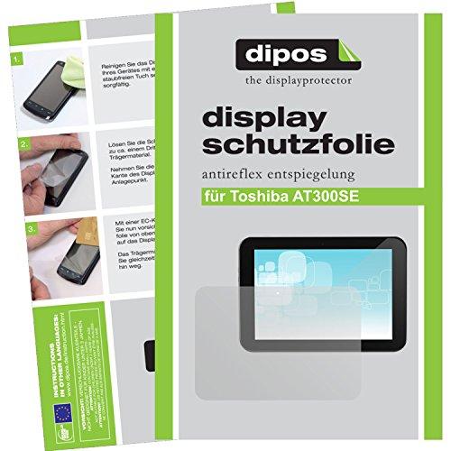dipos I 2X Schutzfolie matt kompatibel mit Toshiba AT300SE Folie Bildschirmschutzfolie