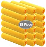 Premium 18 Piece Multi use 9 inch Paint Rollers,Roller, Paint...