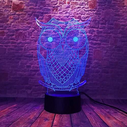 Tafelaccessoires voor kantoor, kerstcadeaus, modern nachtlampje, 3D USB, met abstracte artistieke knopen en ringen, bureaulamp, kleurrijke LED, voor thuis, slaapkamer, bruiloftsdecoratie met afstandsbediening