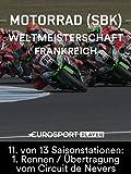 Motorrad: FIM Superbike Weltmeisterschaft 2018 in Magny-Cours (FRA) - 11. von 13 Saisonstationen: 1. Rennen / Übertragung vom Circuit de Nevers