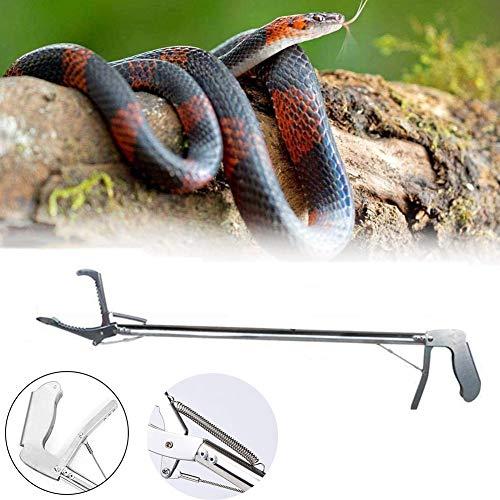 Basinnes Schwerlast Schlangenklemme Schlangenzange Fänger, rutschfest, Flexibler Griff, Für Schlangen/Reptilien,100cm