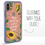 Guard Dog Custom Clear Cases for iPhone Xs Max – Personalized Quote – Put...