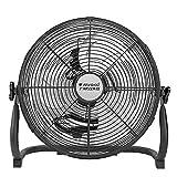YiYi fan Ventilador Orbital Industrial de Alta Velocidad para Tambor/Ventilador para Piso de Gimnasio/Ventilador Industrial/Ventilador eléctrico con 3 velocidades y Cabezal de Ventilador Ajustable/ne