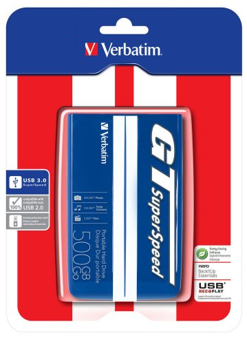 Verbatim GT SuperSpeed Disque dur externe 2,5' 500...