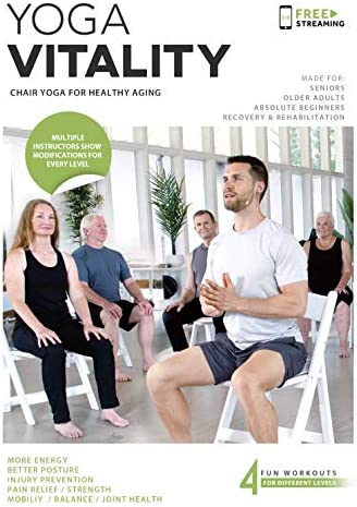Yoga Vitality Chair Yoga For Seniors Older Adults and Absolute Beginners Made For Healthy Aging product image