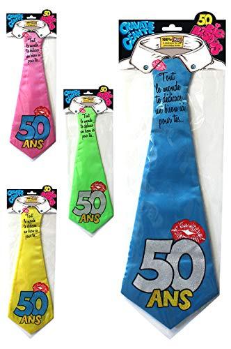 Cravate Humoristique 50 Ans