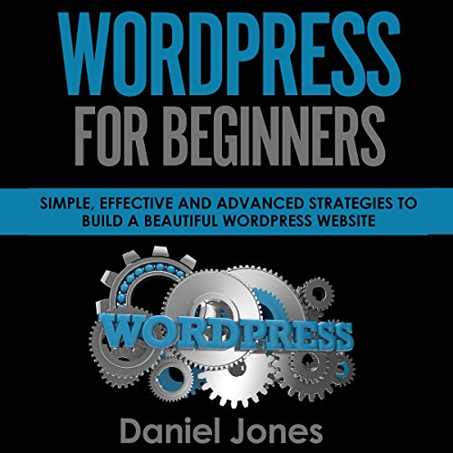 WordPress for Beginners cover art