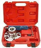 Extractor hidráulico de cubos de ruedas, extractor hidráulico de árbol de transmisión, 10 T, 96 - 125 mm
