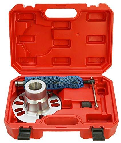FreeTec Hydraulik Radnaben Abzieher Hydraulischer Antriebswellen Ausdrücker 10T 96mm- 125mm