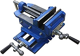 "HFS (Tm) 3"" Cross Slide Vise Drill Press Metal Milling 2 Way X-Y Heavy Duty Clamp Machine"