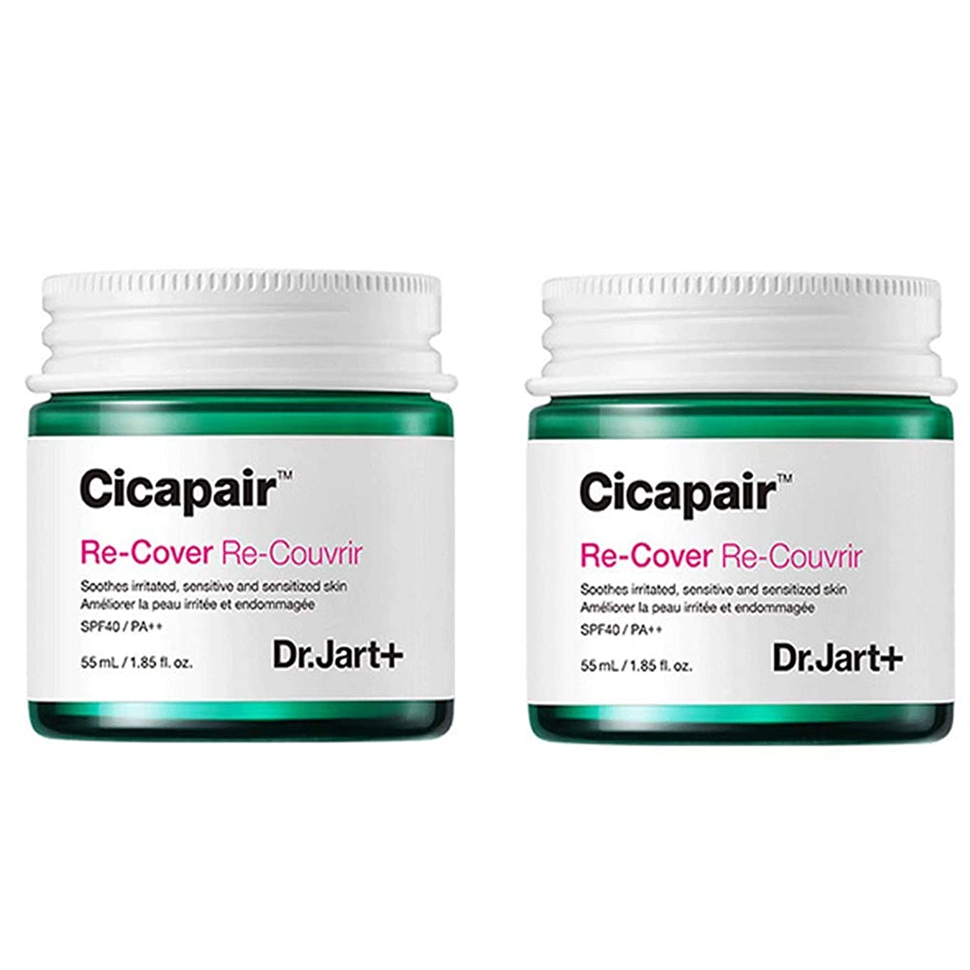 ハウジングプロットエッセンスDr.Jart+ Cicapair ReCover X 2 ドクタージャルトシカペアリカバー X 2 (2代目)皮膚回復 紫外線カット 黄砂ケア [並行輸入品]