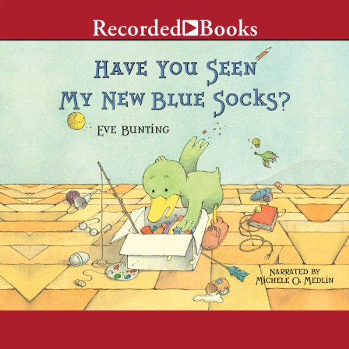 Have You Seen My New Blue Socks? audiobook cover art