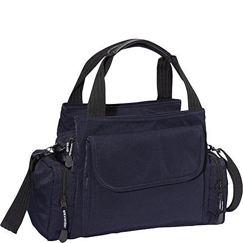Derek Alexander EW Top Zip Handbag Mini Duffle (Navy)