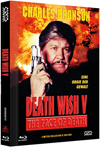 Death Wish 5 - Face of Death [Blu-Ray+DVD] - uncut - auf 888 limitiertes Mediabook Cover C [Limited Collector's Edition]