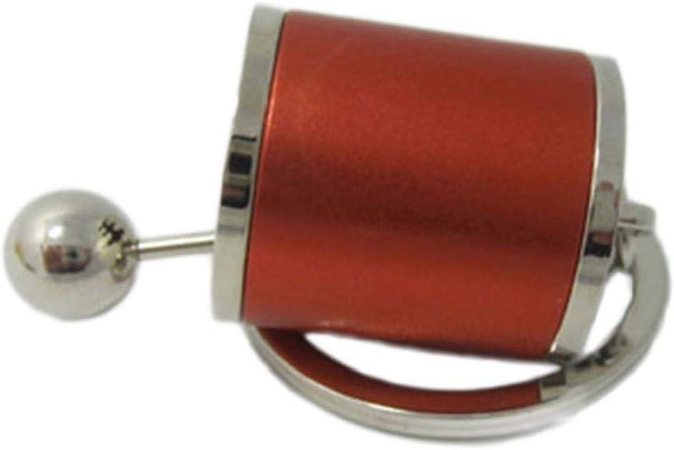 Llaveros Perilla del Engranaje De Coches Accesorios De Engranajes De Cambio De Marcha Palillo De La Caja del Metal Llavero Key Fob Ornamento del Coche