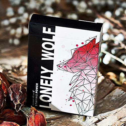 SOLOMAGIA Lonely Wolf Pink Edition Playing Cards