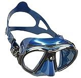 Cressi Air Mask, Maschera Subacquea Professionale Unisex-Adulto, Blu Nery, Taglia unica