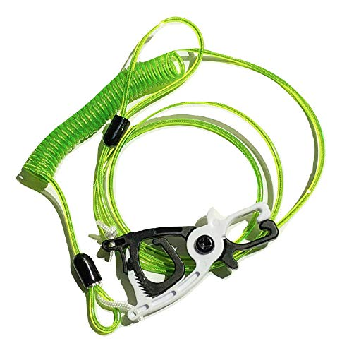 Cal Coast Fishing Donkey Leash New and Improved Smaller Clip and Longer Lanyard (Green)