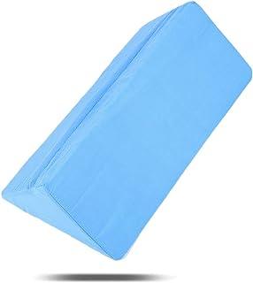 Wytino Almohada de reposapiernas, elevar el reposapiernas para Reducir la hinchazón, el Dolor de Espalda, el Dolor de Cadera y Rodilla - Ideal para Dormir, Leer, Relajarse(Azul)