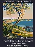Saint Jean de Luz Poster, Motiv: Ciboure Cote Basque,