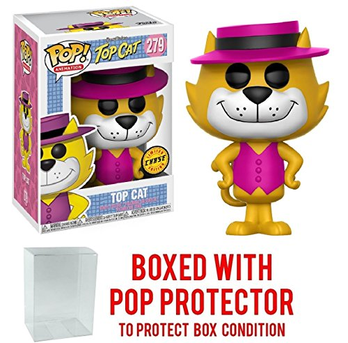 Funko Pop! Animation: Hanna Barbera - Top Cat Chase Variant Vinyl Figure (Bundled with Pop Box Protector CASE) image