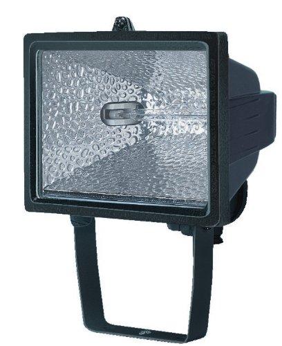 Brennenstuhl Halogenstrahler / Flutlicht Halogen ideal als Baustrahler zur Montage auf Stativ (Außenstrahler IP54 geprüft, 400 Watt)