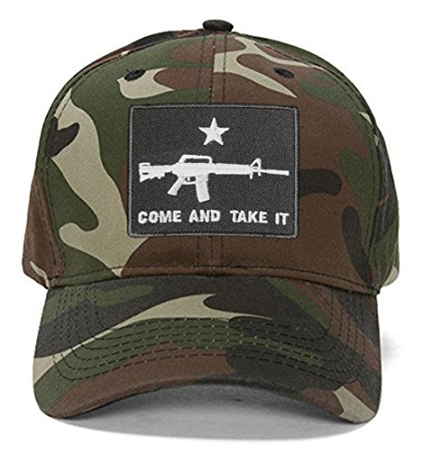 Come And Take It Hats - Style Color Options - AR-15 Cap (Camo)