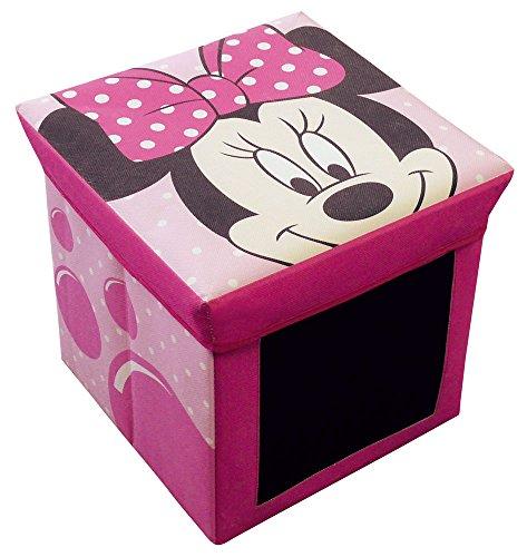 FUN HOUSE 712175 Disney Minnie Tabouret Rangement Ardoise pour Enfant