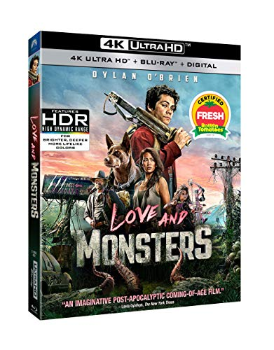 Love and Monsters (UHD + Blu-ray + Digital)