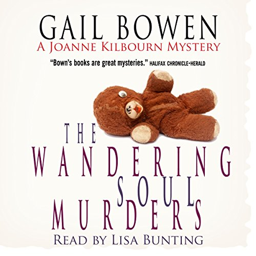The Wandering Soul Murders audiobook cover art