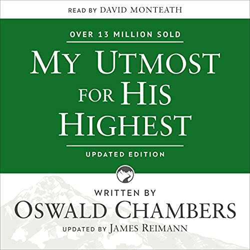 My Utmost for His Highest cover art