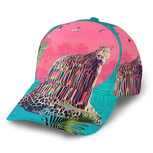 Gorra de béisbol Jaguar Art Cool Unisex 3D Hip Hop Snapback...