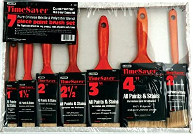 Linzer A-1831 7-Piece Time Saver Deluxe Quality Polyester Brush Set