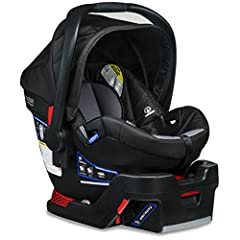 Surrounded in safety: a layer of side impact protection, steel frame, and impact absorbing base Easy installation: use safe center latch or built in seat belt lock offs to secure the infant car seat Relax and recline: spring assisted recline and indi...