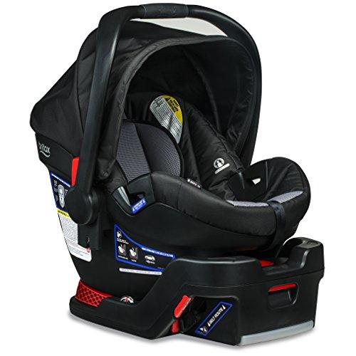 Britax B-Safe 35 Infant Car Seat - Rear Facing 4 to 35 Pounds - Reclinable Base, Ashton