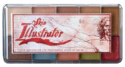 Skin Illustrator Fleshtone Make-up-Palette PPI Alkohol aktiviert
