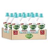 Citrosil Home Protection - Detergente Liquido Pulisci Pavimenti Disinfettante con Vere Essenze di Eucalipto, 900 ml x 12 Confezioni