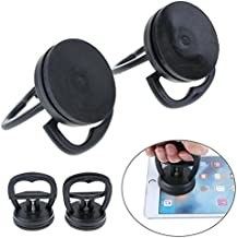 Whitelotous 2Pcs Orange Vacuum Strong Suction Cup Tools, Phone Repair Screen, Glass Lift,Hold Up Cell Phone on Mirrors (Black)