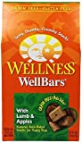 Wellness Wheat Free Oven Baked Biscuits for Dogs, WellBars Lamb and Apple, 20-Ounce Box by Wellness