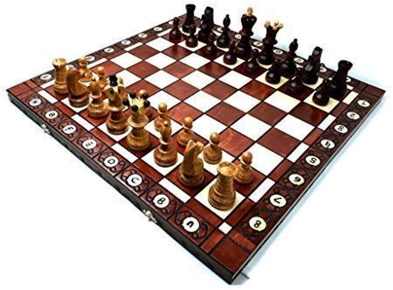 comprar barato Prime Chess AMBASSADOR Cherry Madera Juego de ajedrez 54cm 54cm 54cm 21 Pulgadas Grande MáXIMA CALIDAD  precio al por mayor