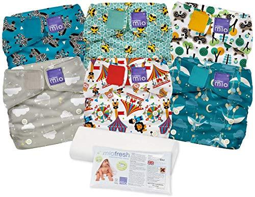 Bambino Mio NKSOX MIX2 Miosolo Misto, Set di Pannolini Lavabili, Multicolore